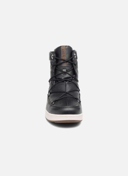 Chaussures de sport Moon Boot Neil Lux Noir vue portées chaussures