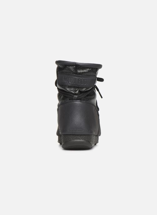 Zapatillas de deporte Moon Boot Low Glitter Negro vista lateral derecha