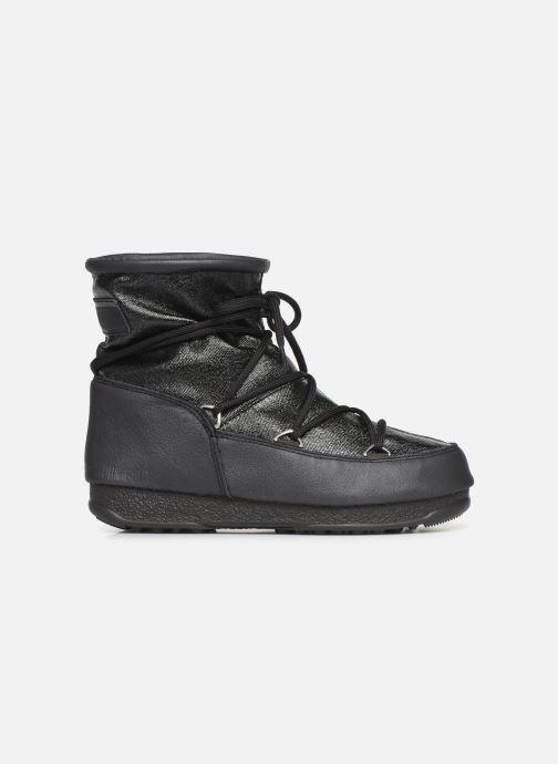 Sportschuhe Moon Boot Low Glitter schwarz ansicht von hinten