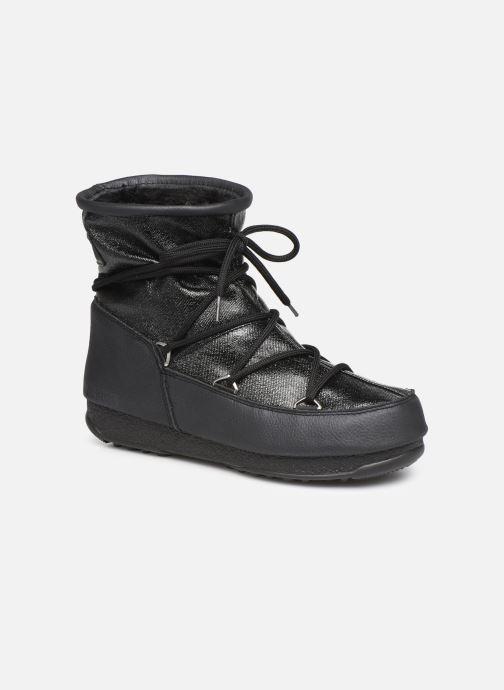 Chaussures de sport Moon Boot Low Glitter Noir vue détail/paire