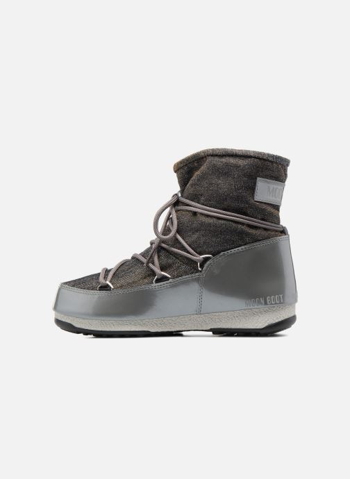 Chaussures de sport Moon Boot Low Lurex Gris vue face