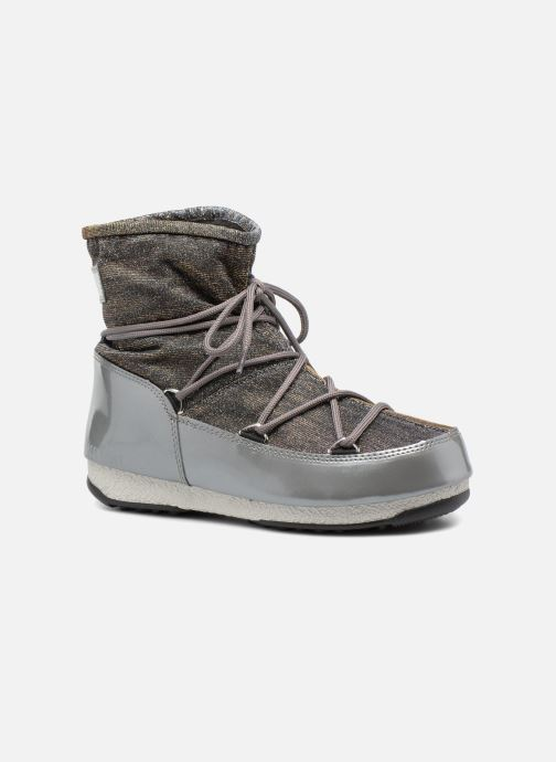 Sport shoes Moon Boot Low Lurex Grey detailed view/ Pair view