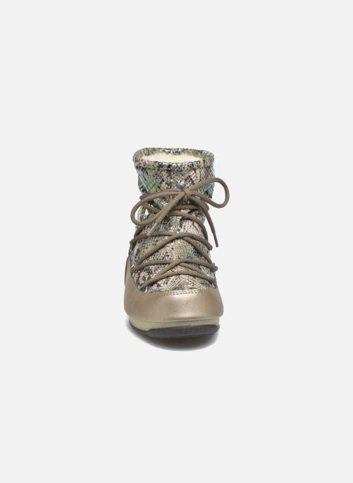 Zapatillas de deporte Moon Boot Low Snake Verde vista del modelo