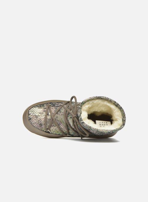 Zapatillas de deporte Moon Boot Low Snake Verde vista lateral izquierda