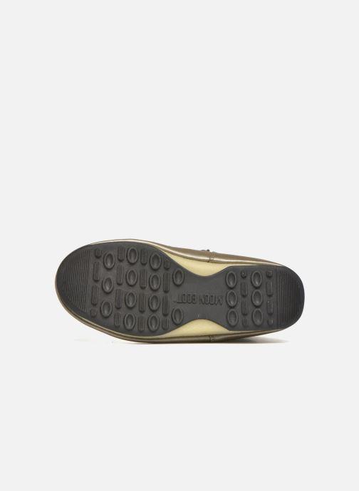 Zapatillas de deporte Moon Boot Low Snake Verde vista de arriba