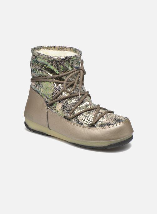Zapatillas de deporte Moon Boot Low Snake Verde vista de detalle / par