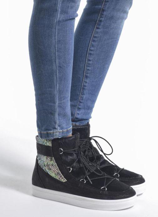 Scarpe sportive Moon Boot Vega Snake Nero immagine dal basso
