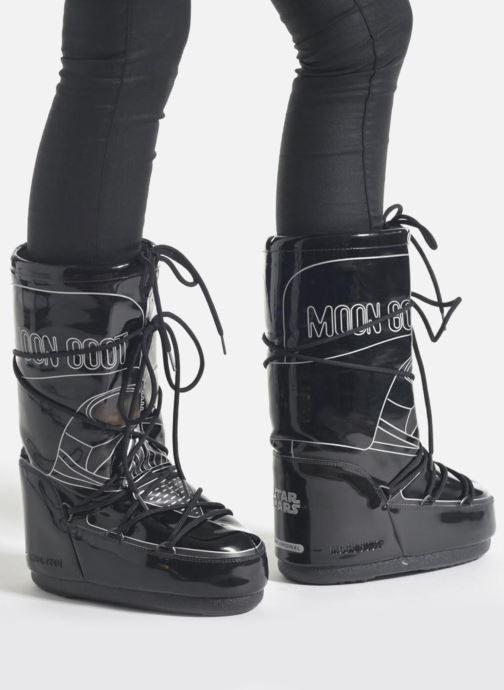 cdd35c58be765 Stivali Moon Boot Moon Boot Star wars Darth Vader Nero immagine dal basso