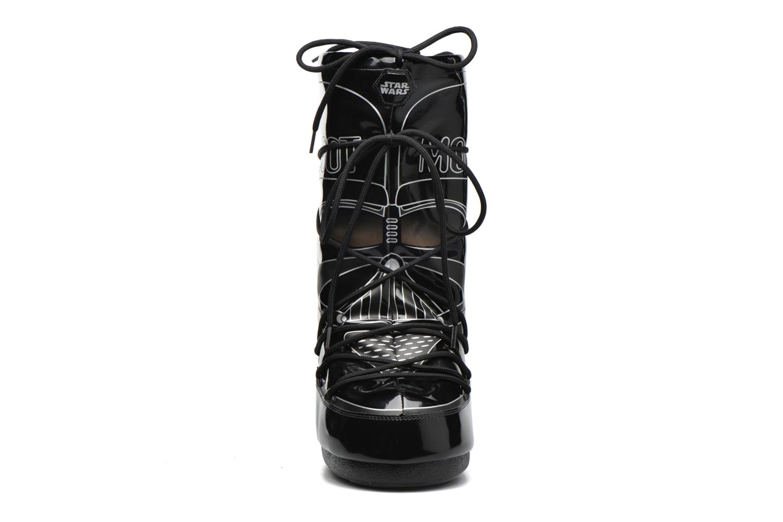 Bottes Moon Boot Moon Boot Star wars Darth Vader Noir vue portées chaussures