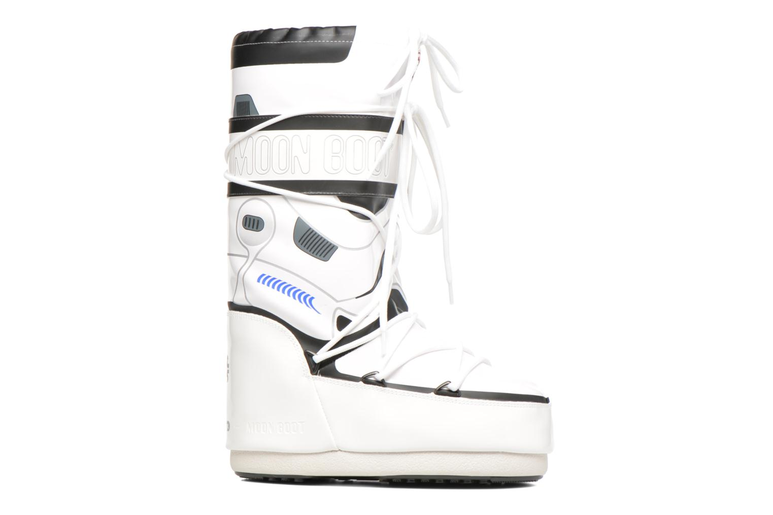 Stivali Moon Boot Moon Boot Star wars Stormtrooper Bianco immagine posteriore