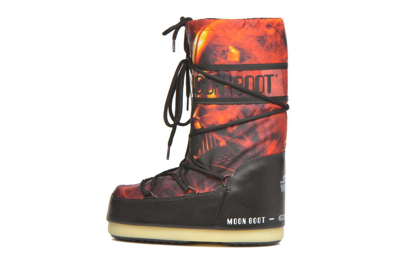 Støvler & gummistøvler Moon Boot Moon Boot Star wars Jr Fire Rød se forfra