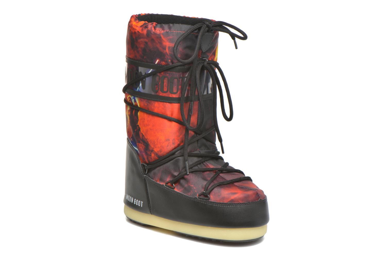 Støvler & gummistøvler Moon Boot Moon Boot Star wars Jr Fire Rød detaljeret billede af skoene