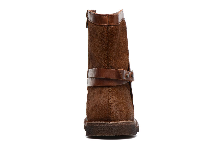 Bottines et boots Kickers Cricket Marron vue droite