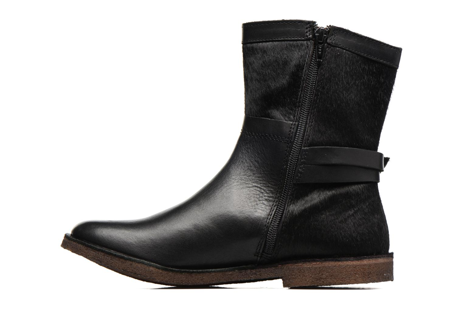 Bottines et boots Kickers Cricket Noir vue face
