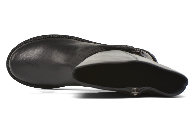 Bottines et boots Kickers Motcast Noir vue gauche