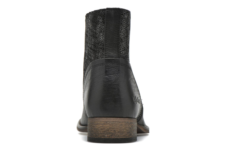 Bottines et boots Kickers Penny Noir vue droite