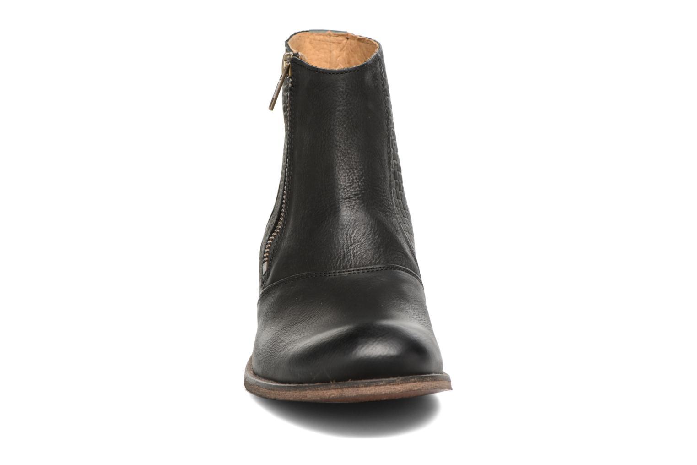 Bottines et boots Kickers Penny Noir vue portées chaussures