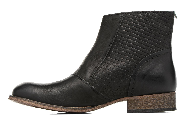 Bottines et boots Kickers Penny Noir vue face