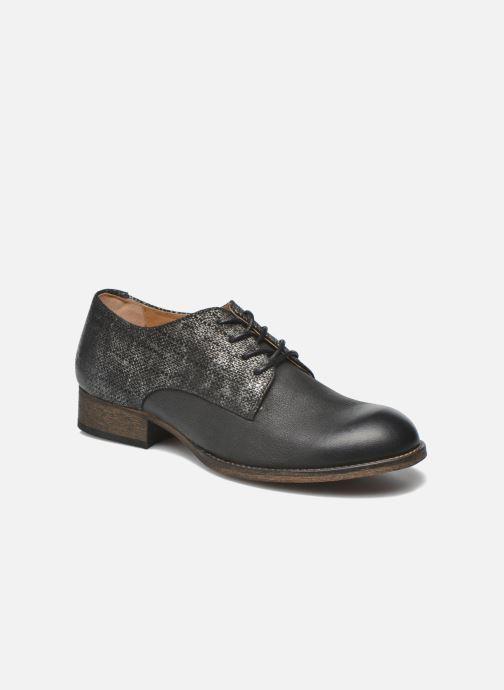 Zapatos con cordones Kickers Punkyplace Negro vista de detalle / par
