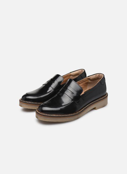 Oxmox Stiefeletten 37 Leder Stiefel schwarz Schuhe