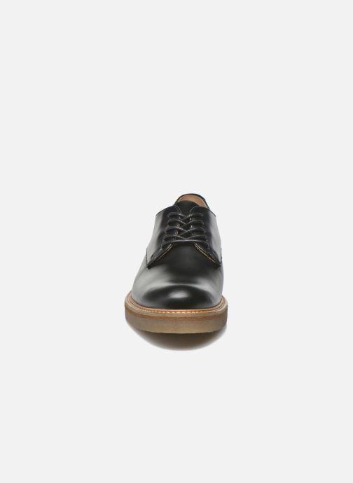 Chaussures à lacets Kickers Oxfork Noir vue portées chaussures