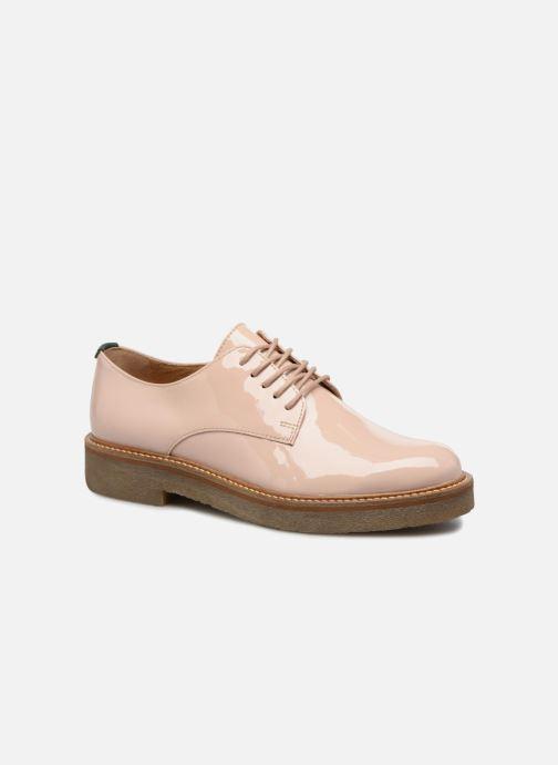 Chaussures à lacets Kickers Oxfork Beige vue détail/paire