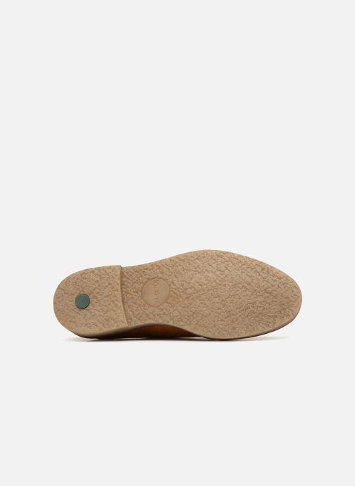 Chaussures à lacets Kickers Oxfork Jaune vue haut