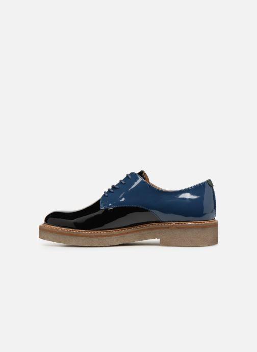 Chaussures à lacets Kickers Oxfork Bleu vue face