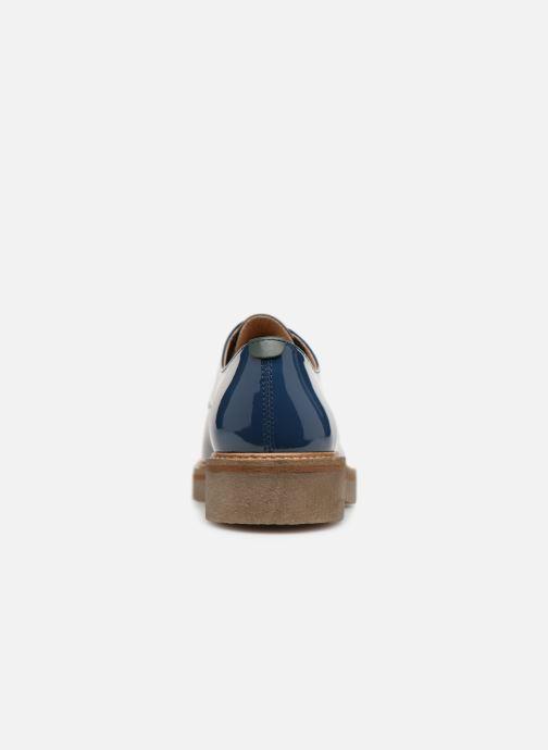 Chaussures à lacets Kickers Oxfork Bleu vue droite