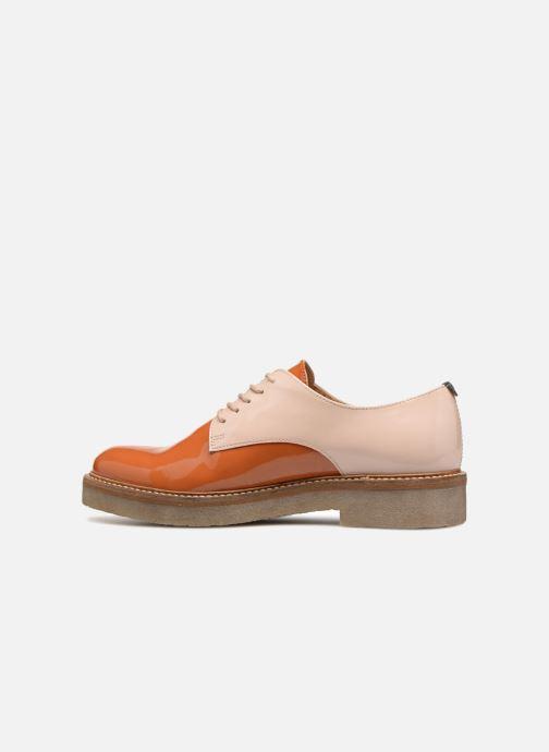 Chaussures à lacets Kickers Oxfork Orange vue face