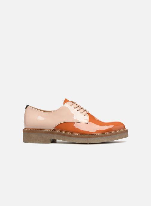 Chaussures à lacets Kickers Oxfork Orange vue derrière