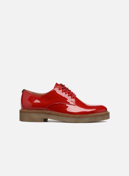 Chaussures à lacets Kickers Oxfork Rouge vue derrière