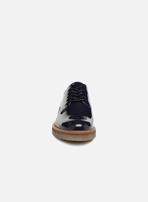 Chaussures à lacets Kickers Oxfork Bleu vue portées chaussures