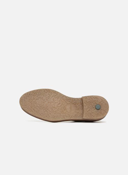 Chaussures à lacets Kickers Oxfork Marron vue haut