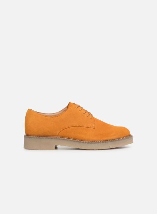 Chaussures à lacets Kickers Oxfork Jaune vue derrière