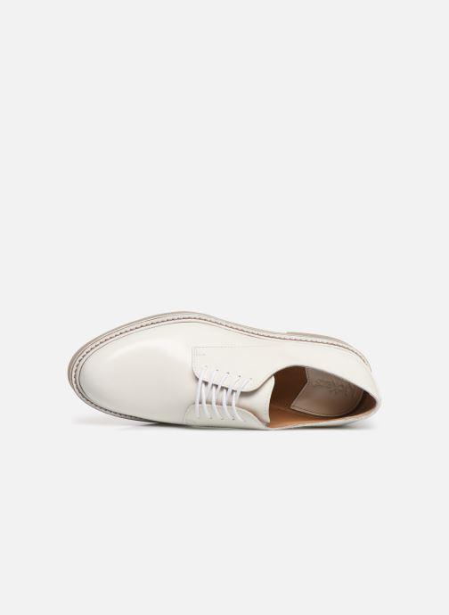 Chaussures à lacets Kickers Oxfork Blanc vue gauche