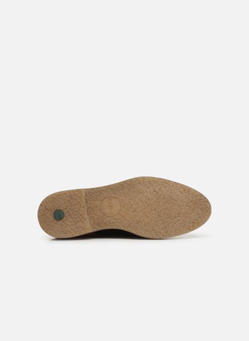 Chaussures à lacets Kickers Oxfork Or et bronze vue haut