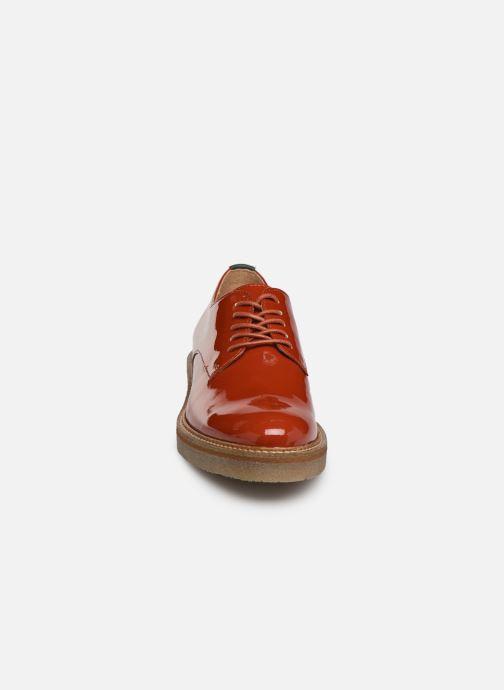 Veterschoenen Kickers Oxfork Rood model