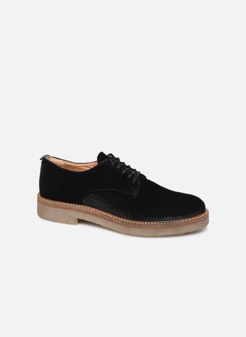 Chaussures à lacets Kickers Oxfork Noir vue détail/paire