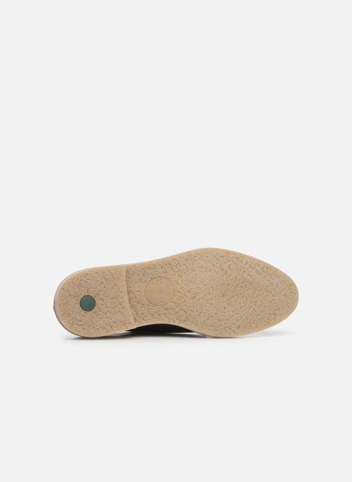 Chaussures à lacets Kickers Oxfork Argent vue haut