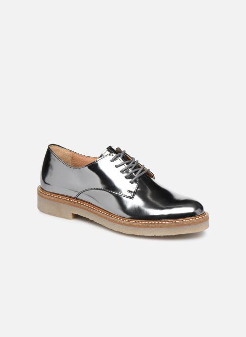 Zapatos con cordones Kickers Oxfork Plateado vista de detalle / par