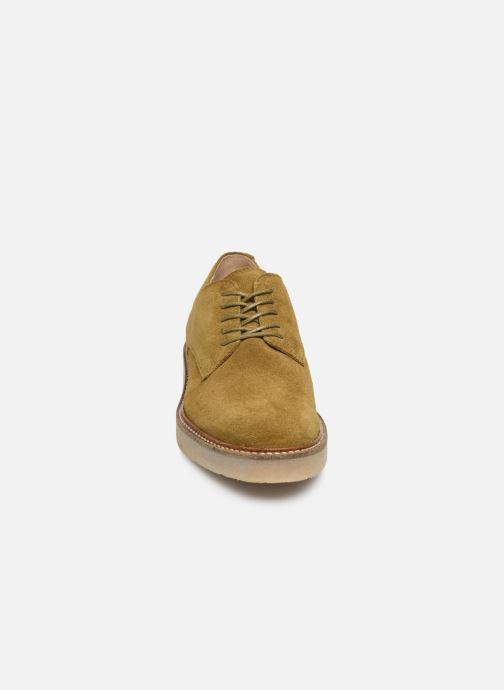 Zapatos con cordones Kickers Oxfork Verde vista del modelo