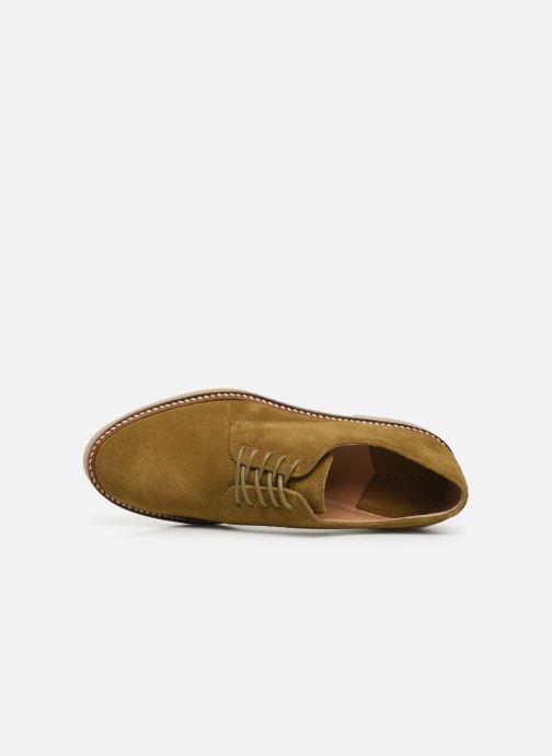 Chaussures à lacets Kickers Oxfork Vert vue gauche