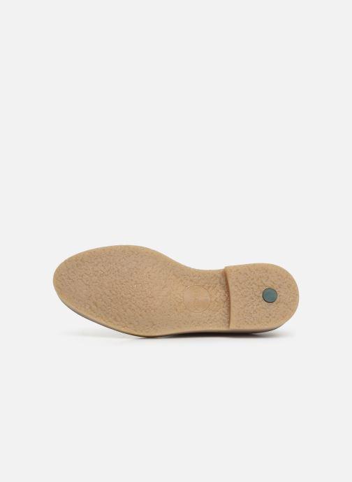 Chaussures à lacets Kickers Oxfork Vert vue haut
