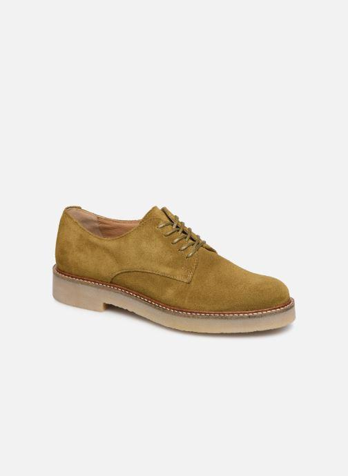 Chaussures à lacets Kickers Oxfork Vert vue détail/paire