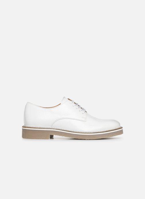 Chaussures à lacets Kickers Oxfork Blanc vue derrière