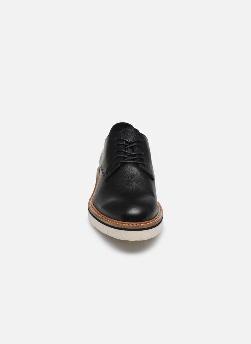Zapatos con cordones Kickers Oxfork Negro vista del modelo