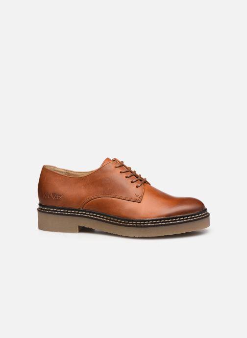 Chaussures à lacets Kickers Oxfork Marron vue derrière