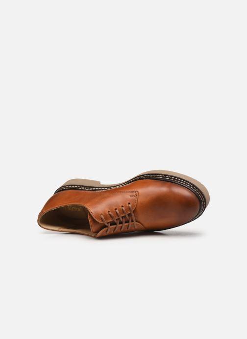 Scarpe con lacci Kickers Oxfork Marrone immagine sinistra