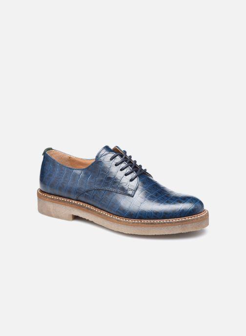 Schnürschuhe Kickers Oxfork blau detaillierte ansicht/modell